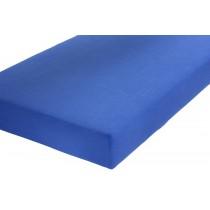 Schlafgut Spannbetttuch royalblau