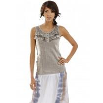 Linea Tesini by heine Damen Shirttop grau