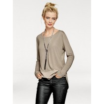 B.C. Best Connections by heine Damen 2-in-1-Shirt taupe